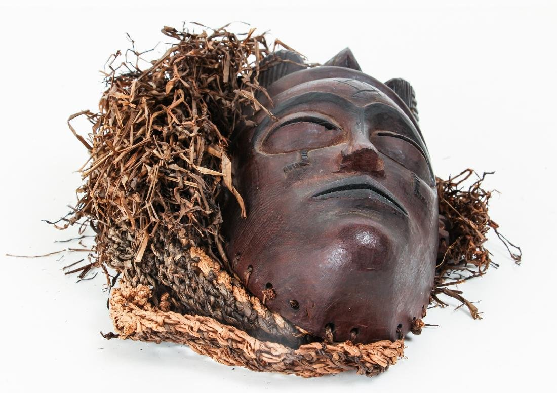 20th Century Chockwe Mask, - 4