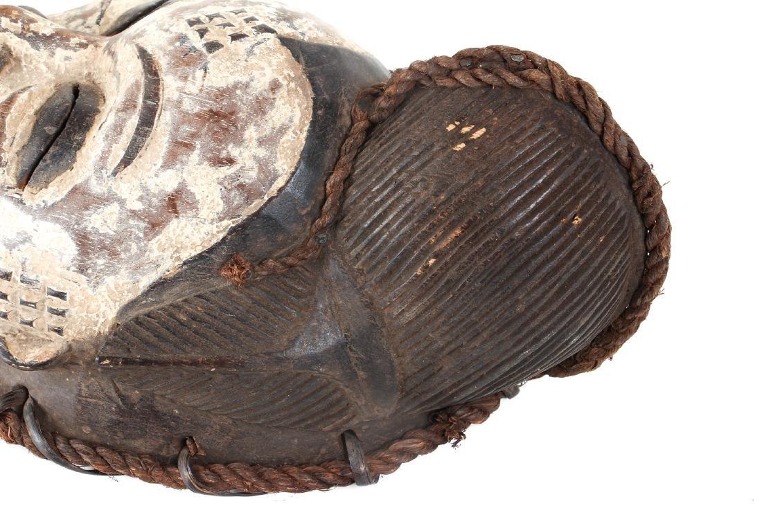 Punu Mask, Polychromed Wood - 4