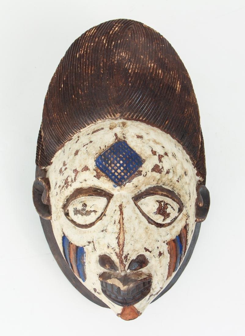 Igbo or Punu Peoples Mask