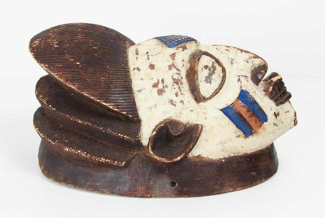 Igbo or Punu Peoples Mask - 3