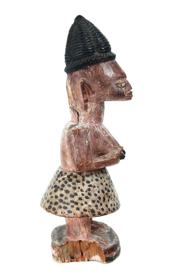 Yoruba Peoples, Female Figure - 4