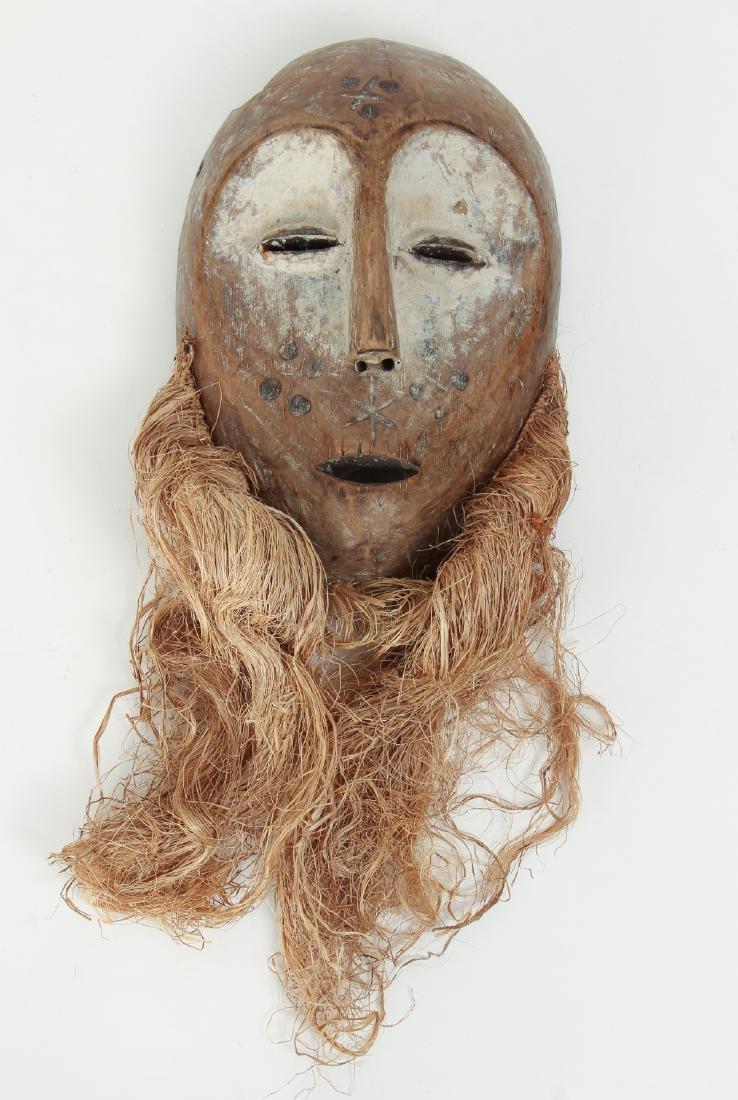 "Lega Bwami ""lukwakongo"" Mask"