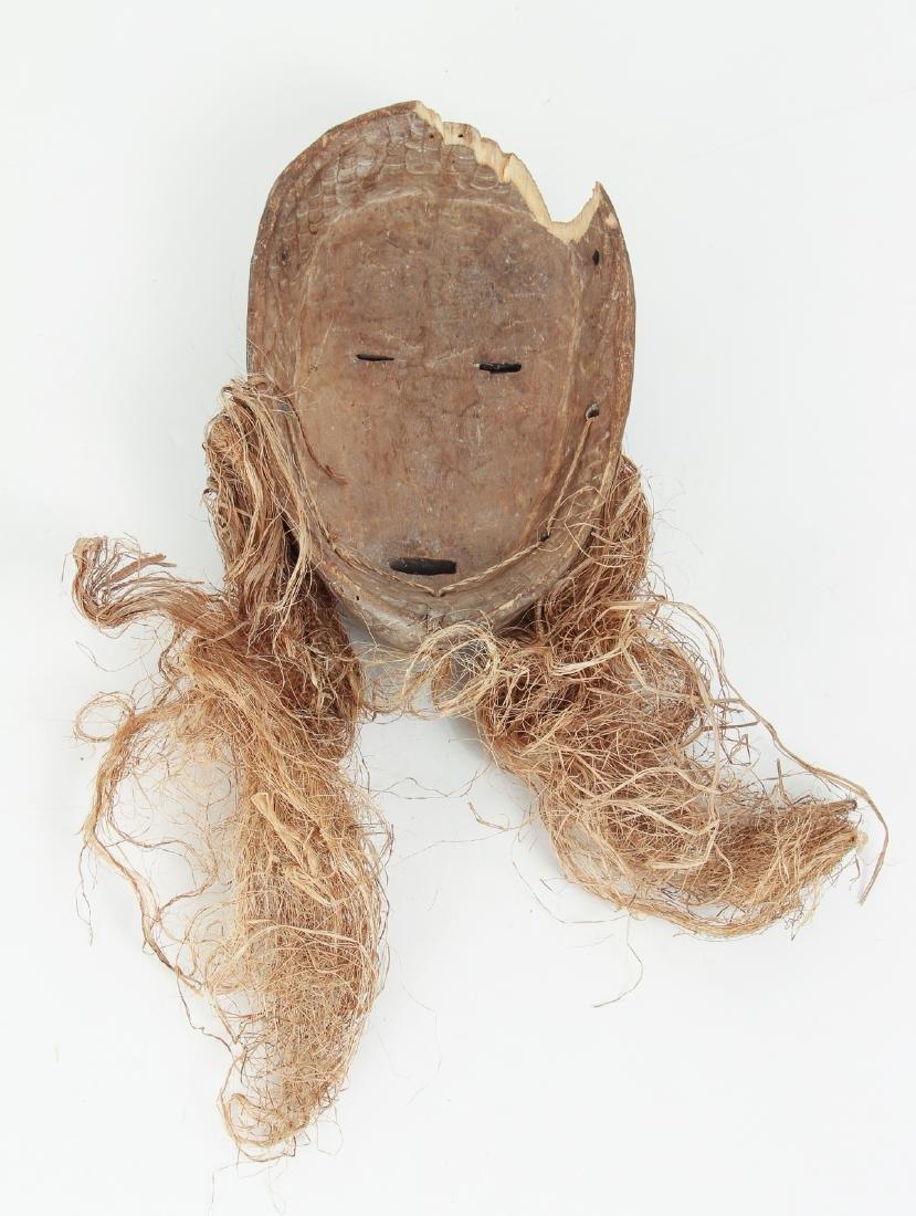 "Lega Bwami ""lukwakongo"" Mask - 2"