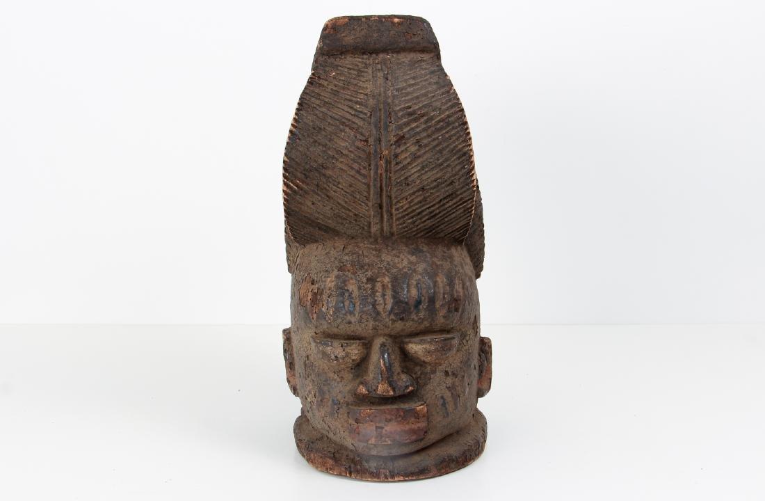 Yoruba Nigeria Galede Headpiece