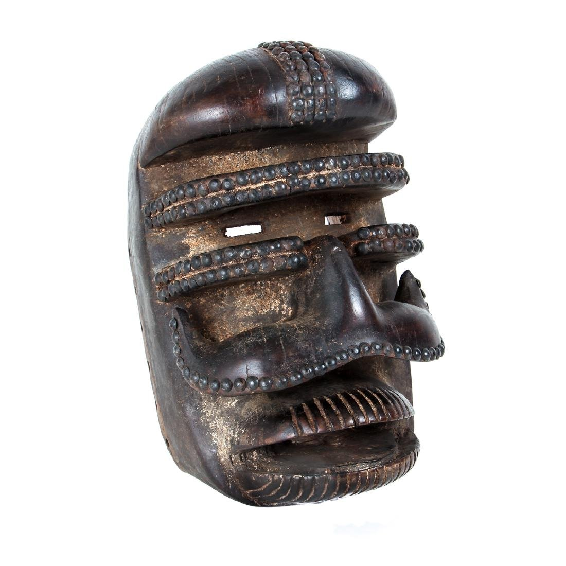 Bete Peoples Wood Mask