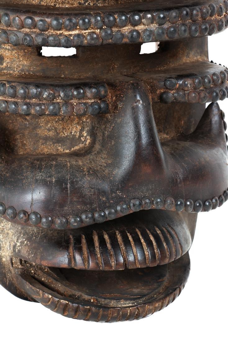 Bete Peoples Wood Mask - 5