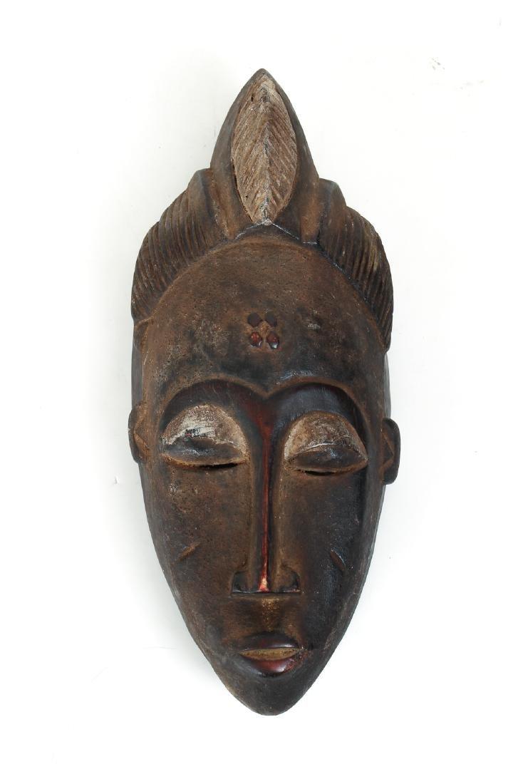 20th Century Baule Male Mask