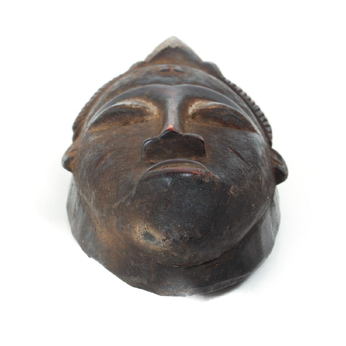 20th Century Baule Male Mask - 6