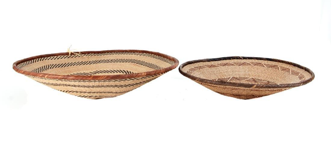 2 Zimbabwe Peoples Winnowing Baskets