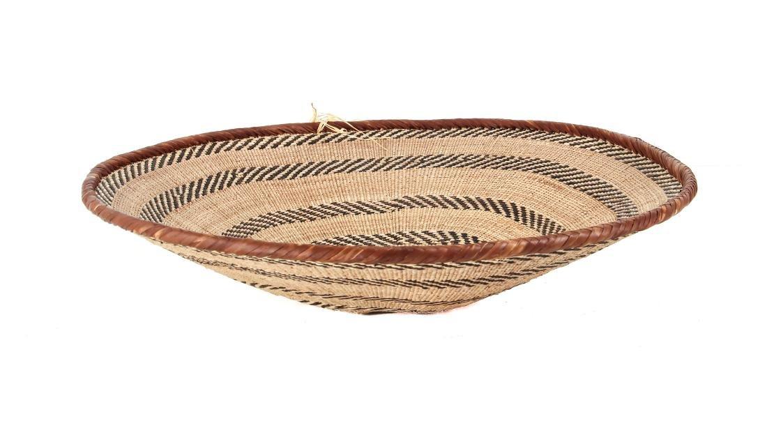 2 Zimbabwe Peoples Winnowing Baskets - 2