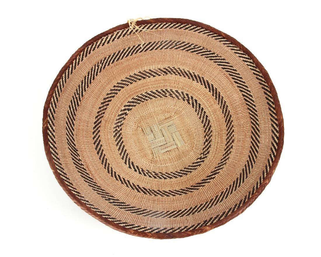 2 Zimbabwe Peoples Winnowing Baskets - 3