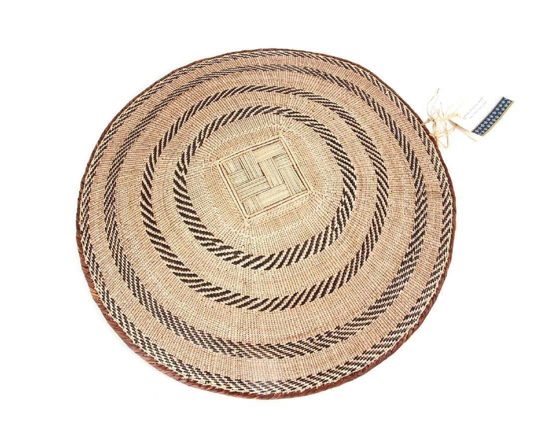 2 Zimbabwe Peoples Winnowing Baskets - 4