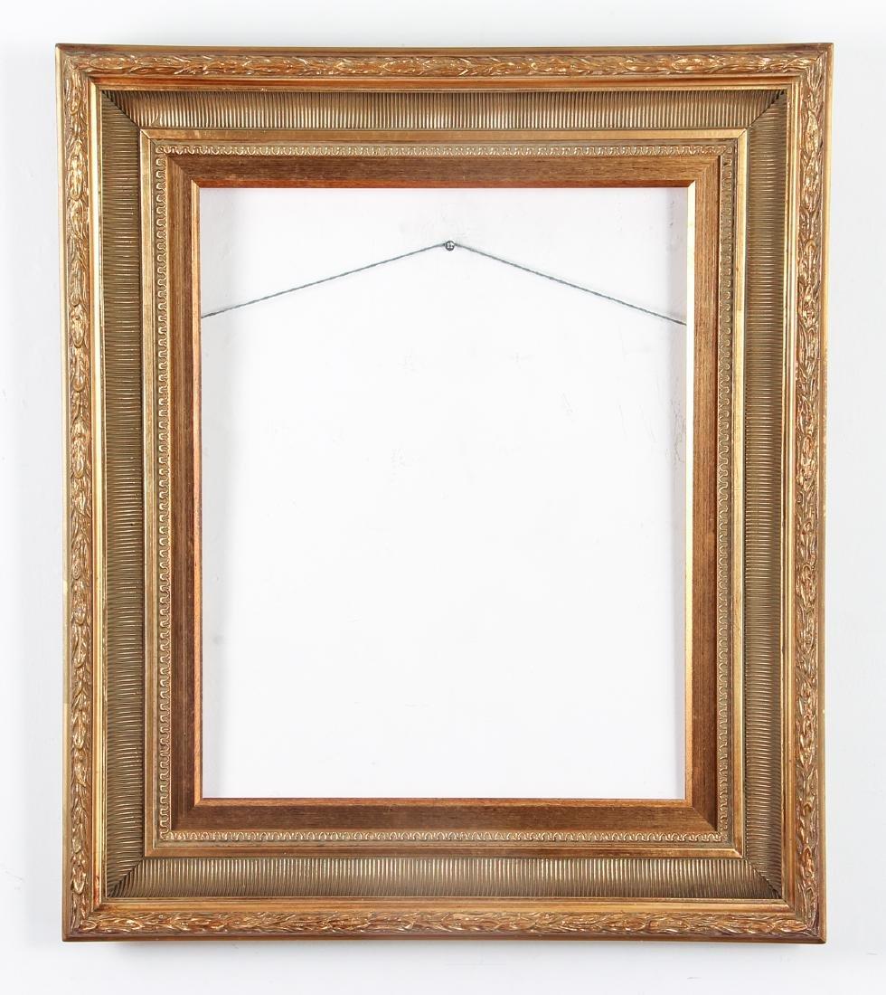2 - Hudson River Style gilded wood frames