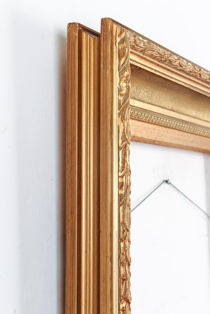 2 - Hudson River Style gilded wood frames - 3