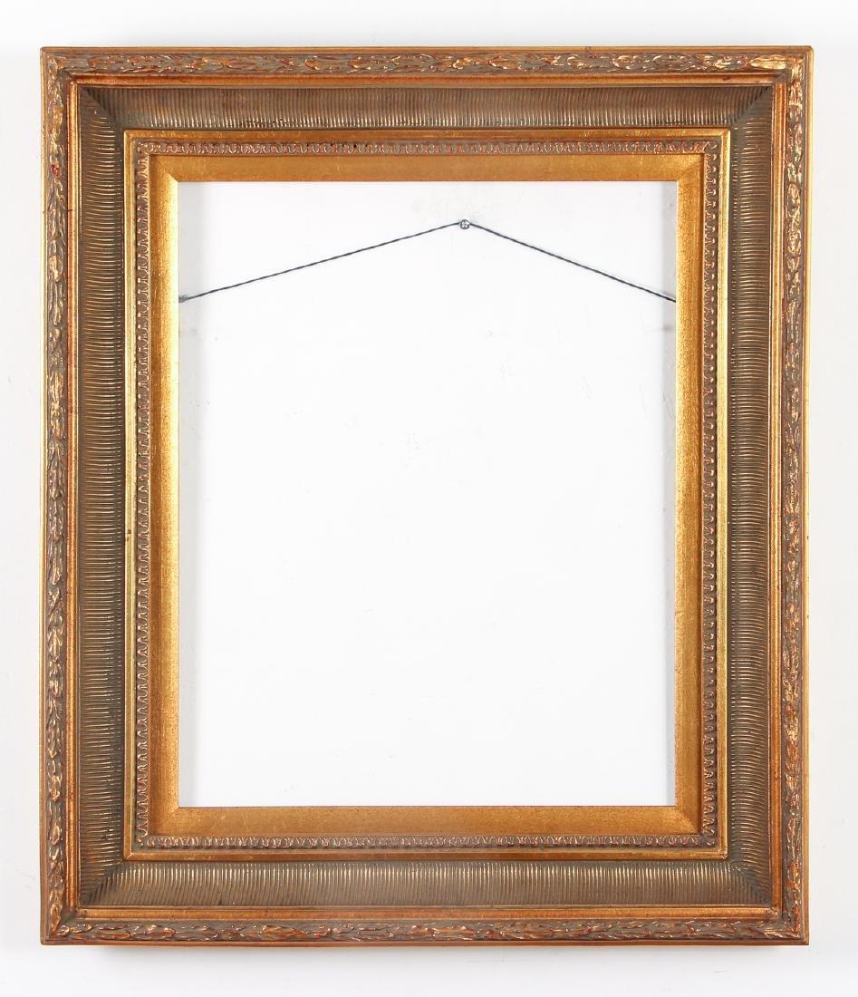 2 - Hudson River Style gilded wood frames - 5