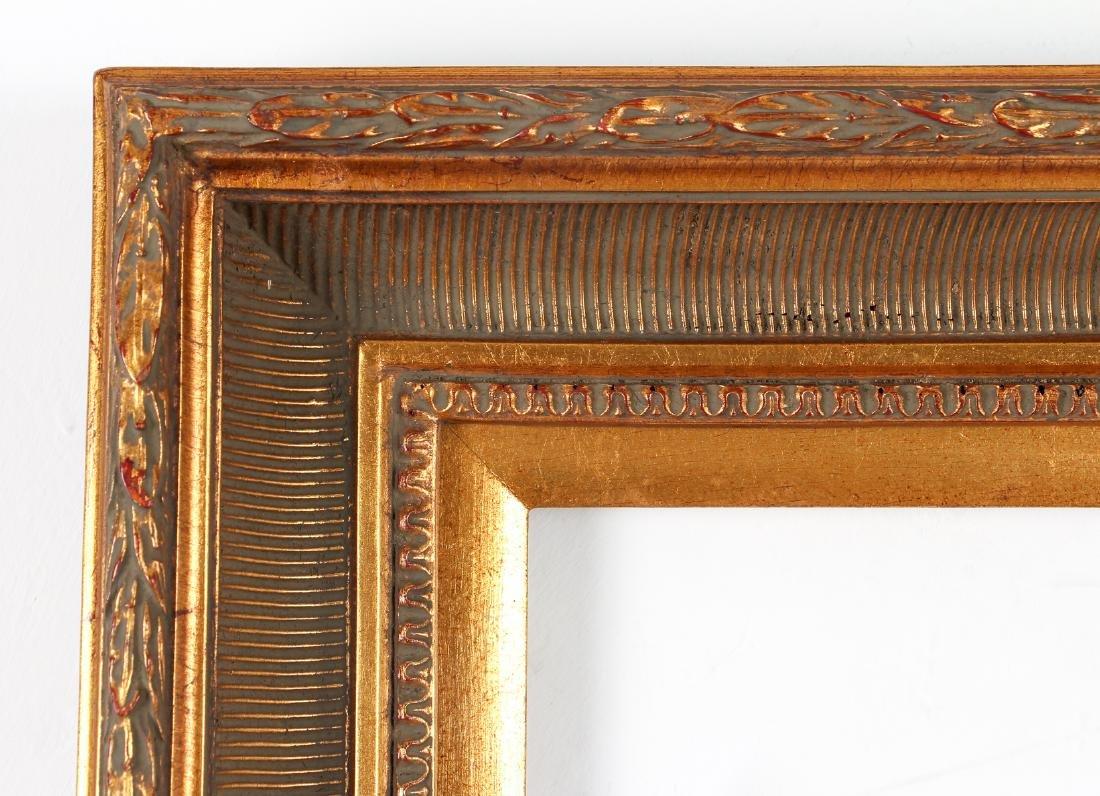 2 - Hudson River Style gilded wood frames - 6