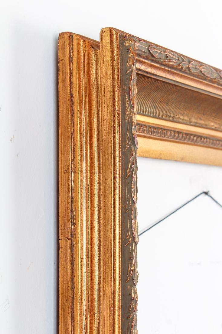2 - Hudson River Style gilded wood frames - 7