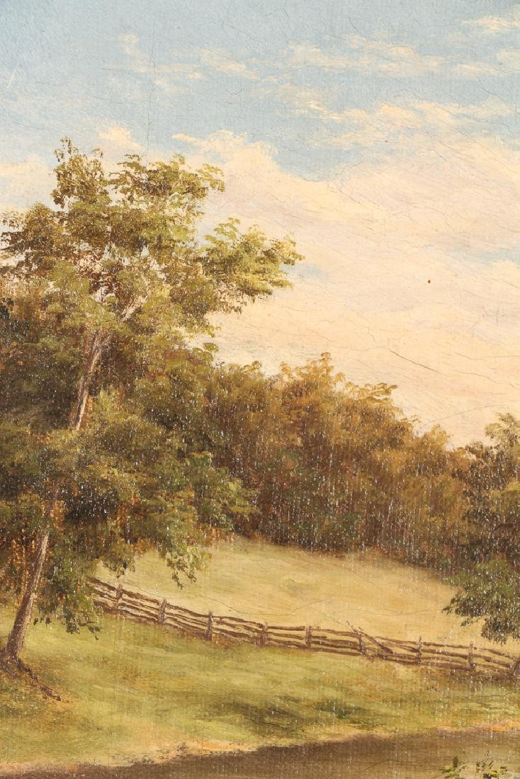 Two Victorian Landscape Paintings - 10