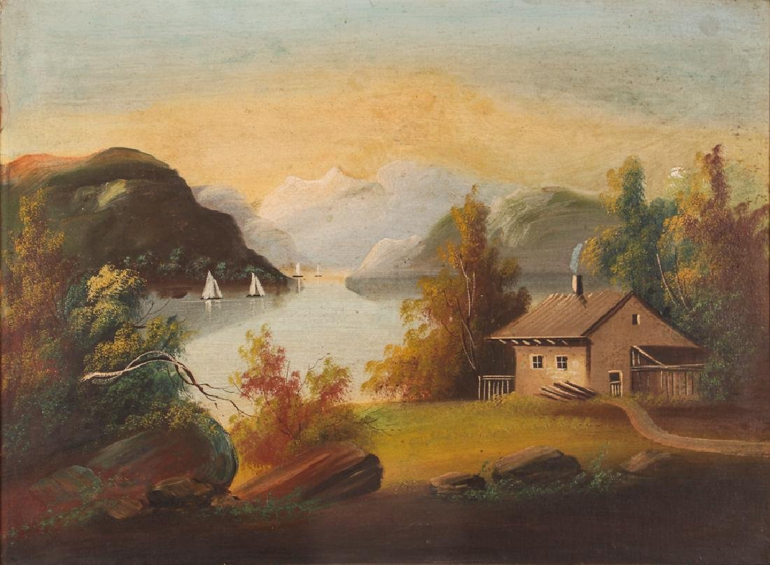 Two Victorian Landscape Paintings