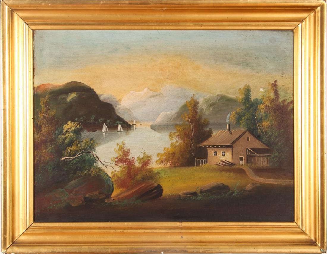 Two Victorian Landscape Paintings - 2