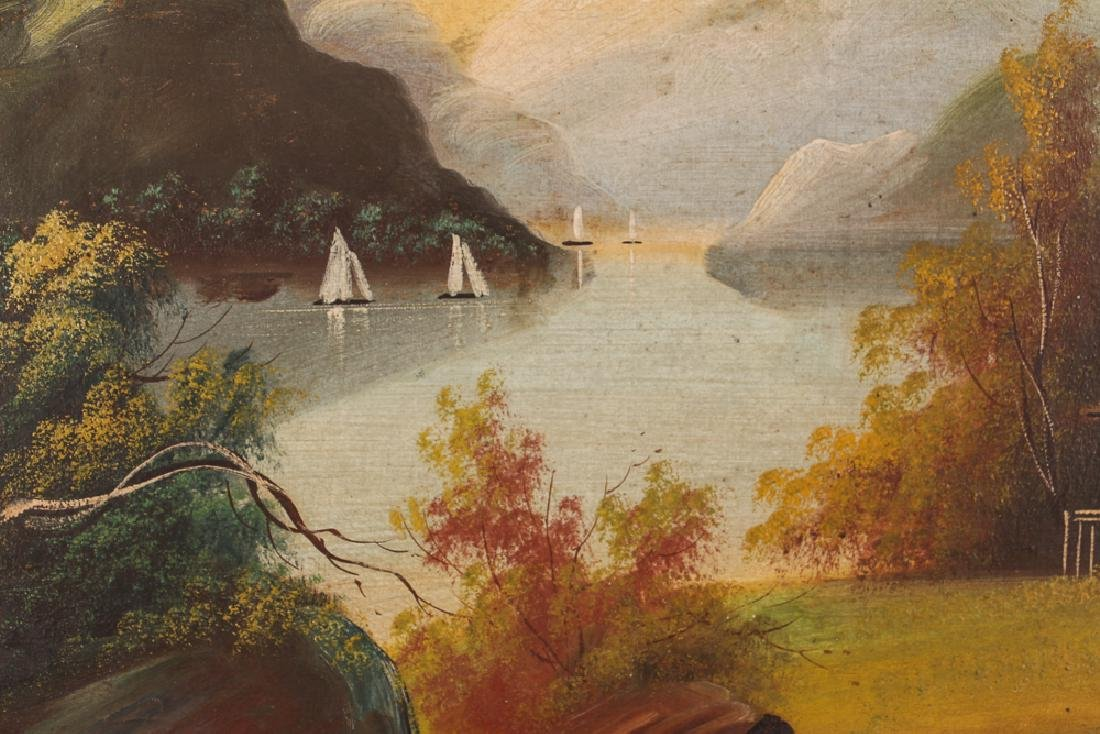 Two Victorian Landscape Paintings - 4