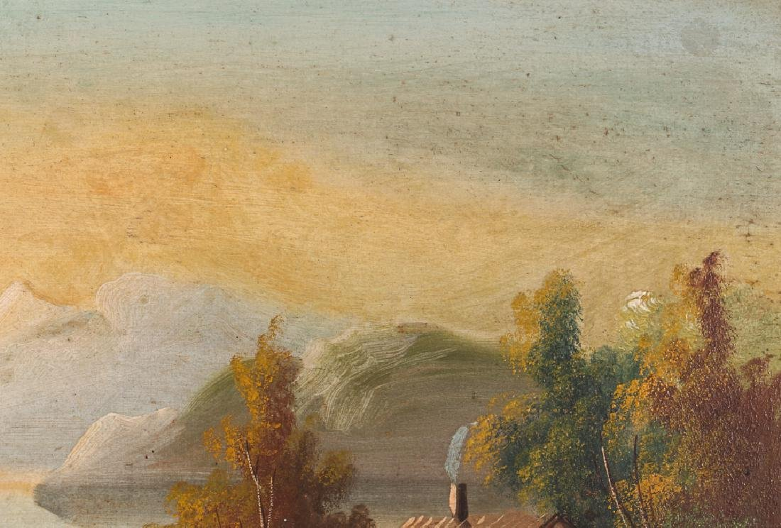 Two Victorian Landscape Paintings - 5