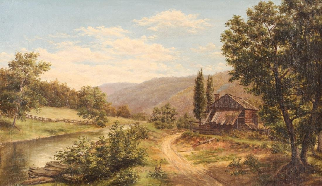 Two Victorian Landscape Paintings - 7