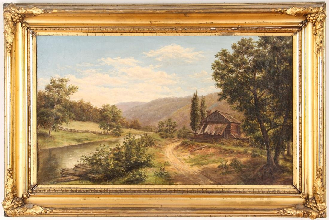 Two Victorian Landscape Paintings - 8