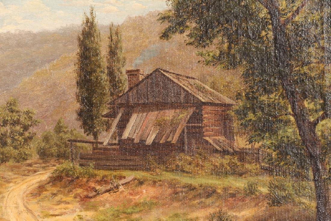 Two Victorian Landscape Paintings - 9