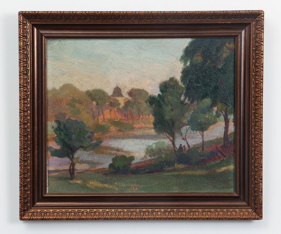 Impressionist View of  Humbolt Park, Chicago - 2