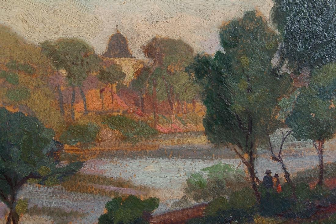 Impressionist View of  Humbolt Park, Chicago - 4