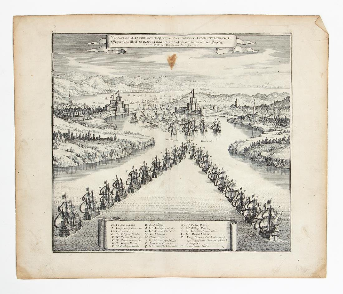 German Historic War Maps, Towns, and Sieges - 7