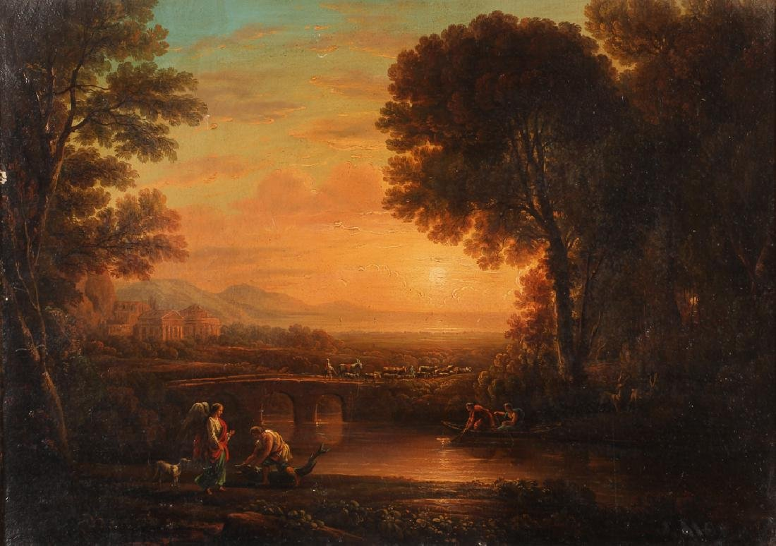 19th Century Allegorical Painting Reproduction