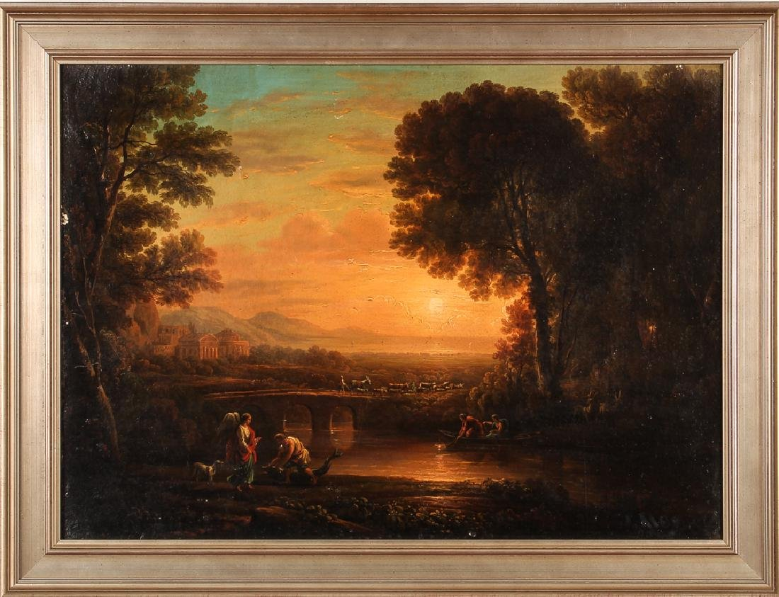 19th Century Allegorical Painting Reproduction - 2