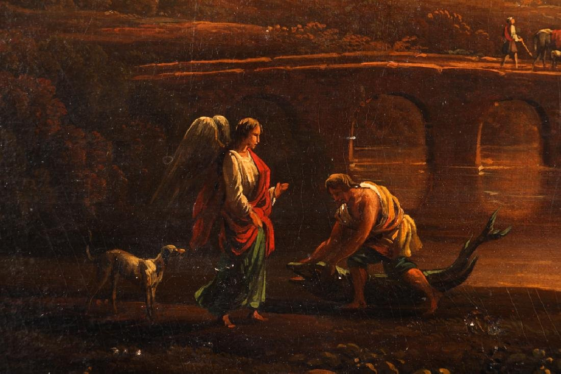 19th Century Allegorical Painting Reproduction - 4