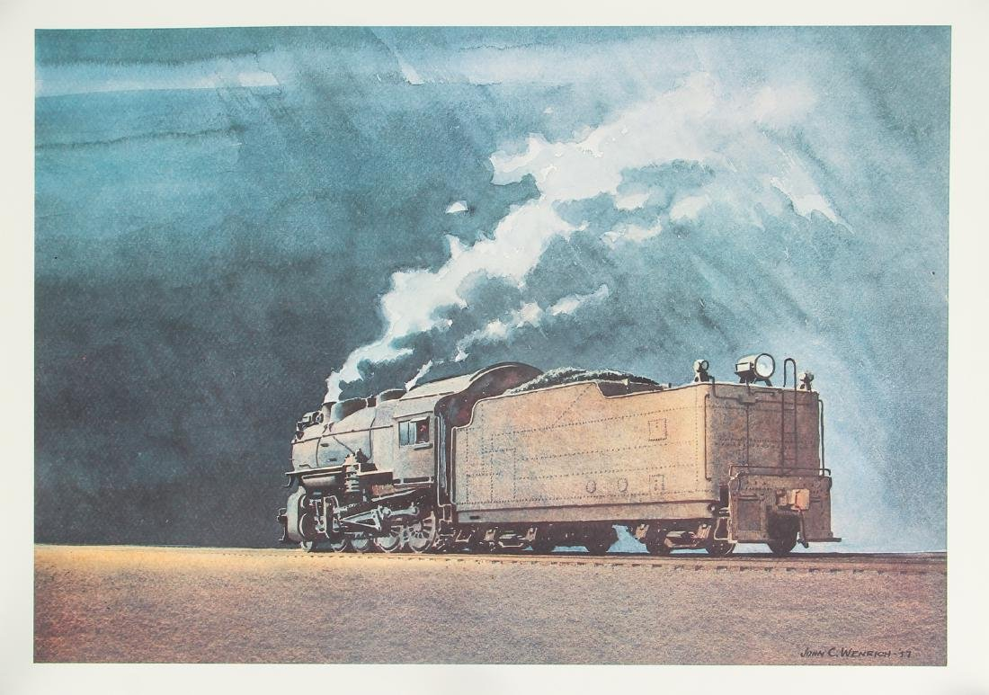 Group of Railroad Related Art Work - 10
