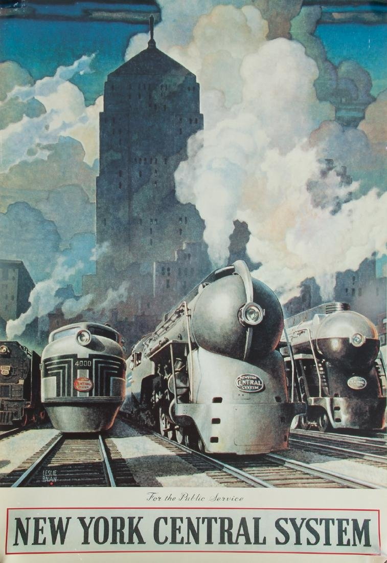 Group of Railroad Related Art Work