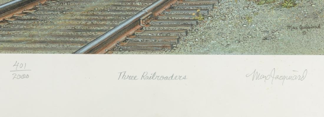 Group of Railroad Related Art Work - 5