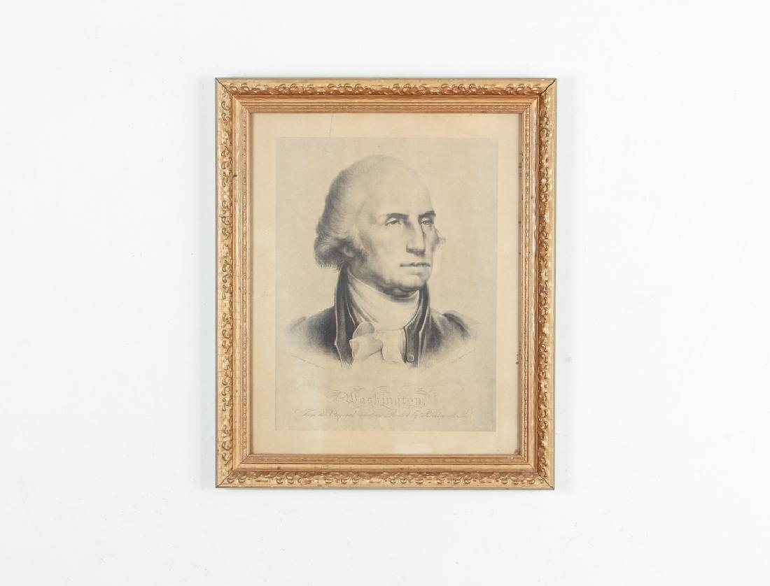 Copy of Pendleton Lithograph of Peale's Washington - 2