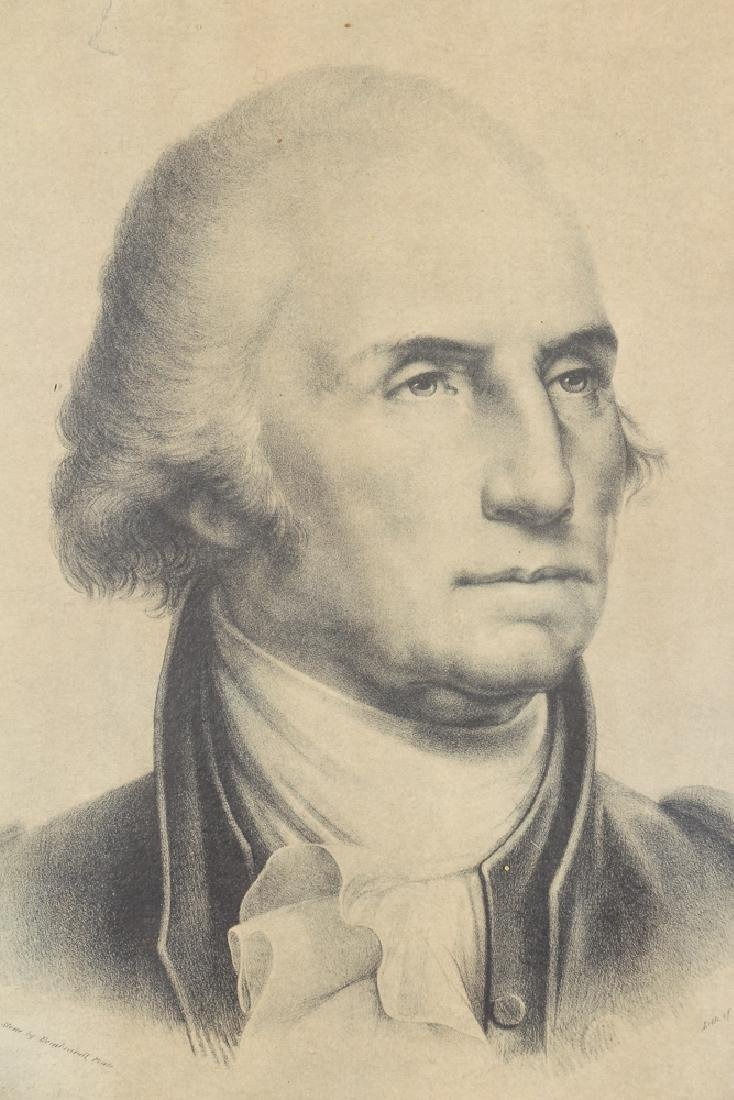 Copy of Pendleton Lithograph of Peale's Washington - 6