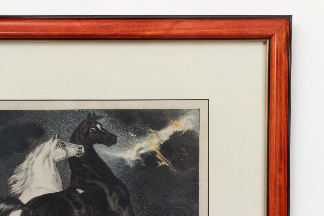 2 Currier and Ives, Lady Maud Trotter with Horses in a - 10