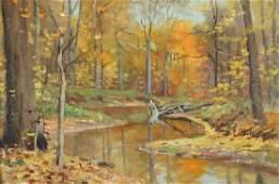 M. Dorthy Doyle ptg. Autumn Landscape