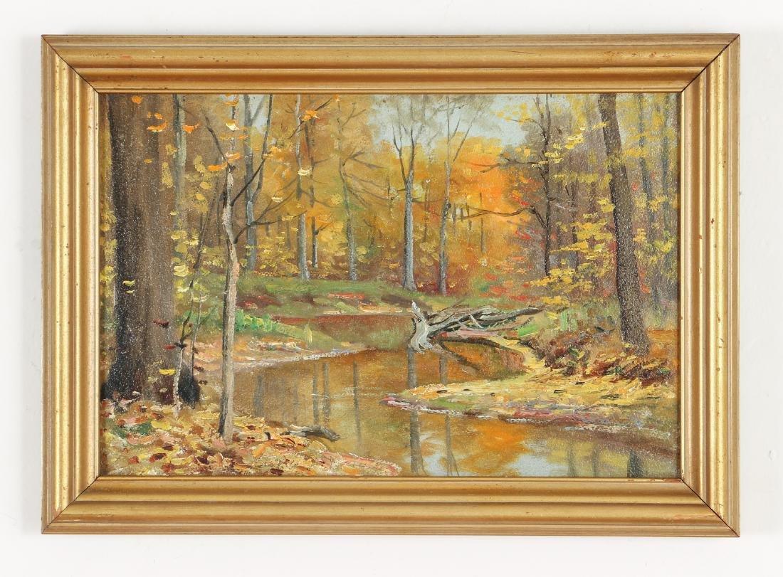 M. Dorthy Doyle ptg. Autumn Landscape - 2