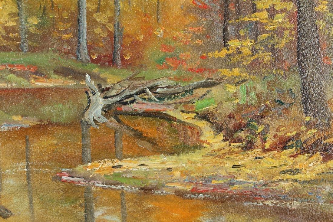 M. Dorthy Doyle ptg. Autumn Landscape - 4