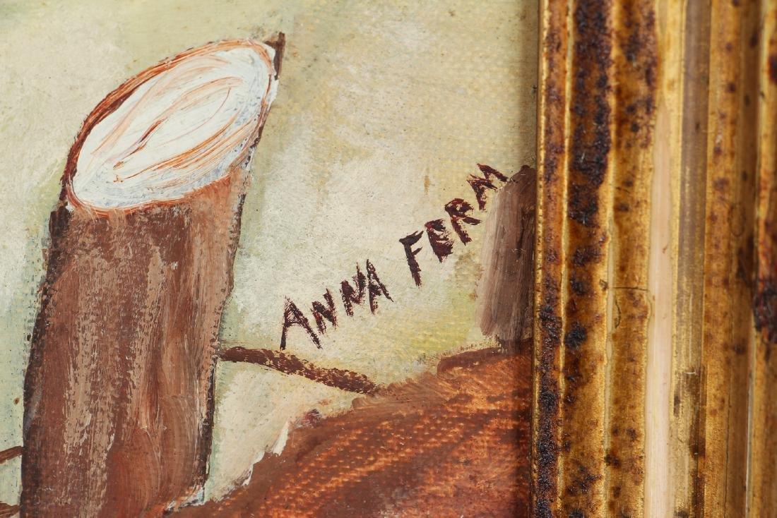 Anna Ferm oil Buffalo Harbor - 3