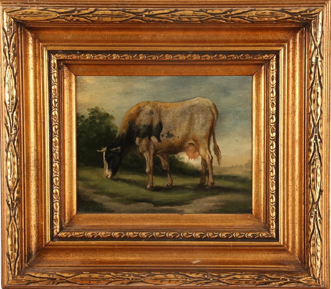 C. Kelvin painting Dairy Cow in a Field - 2