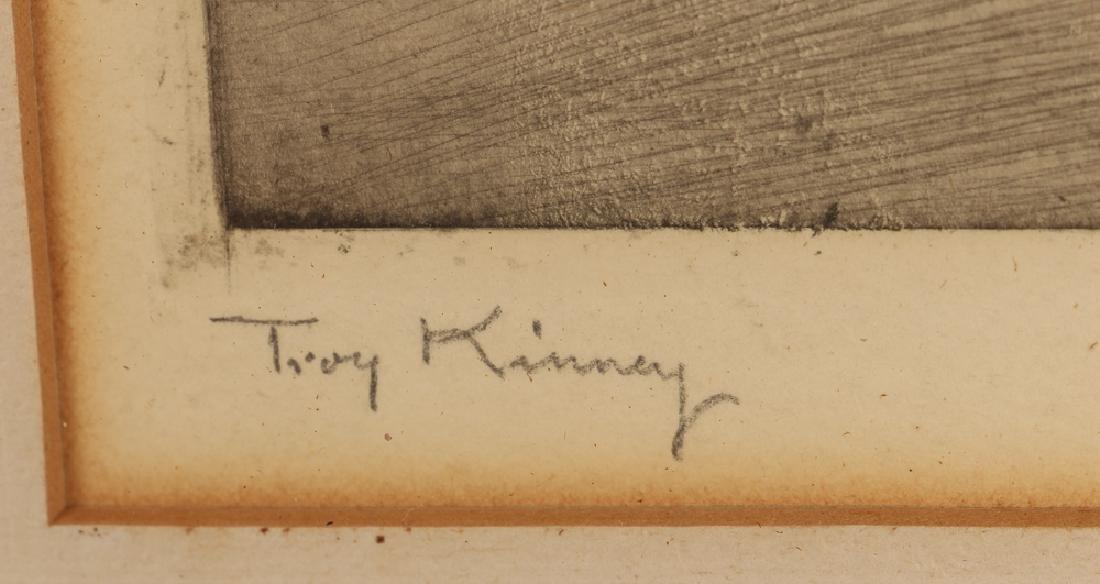 Troy Kinney dry point Pavlowa and Volinin in Amarilla - 3