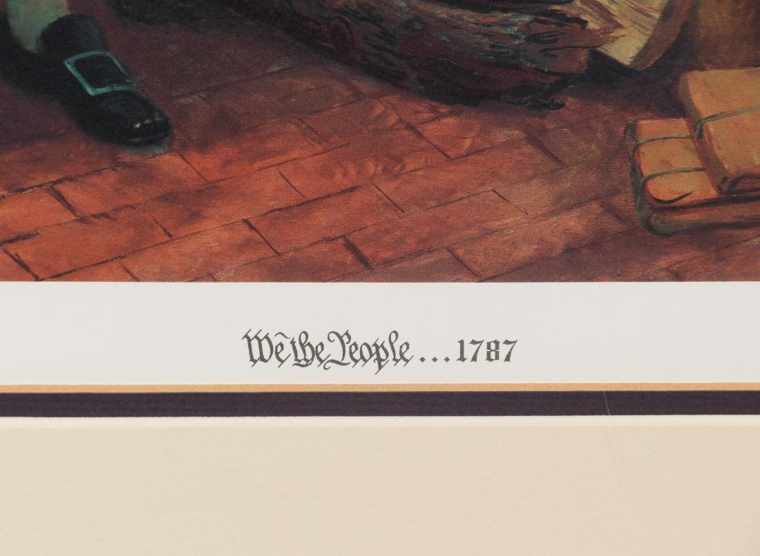 Mort Kunstler We The People Lithograph - 5
