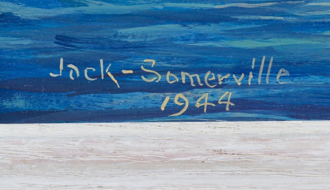 Jack Somerville oil Sailing Boats - 3