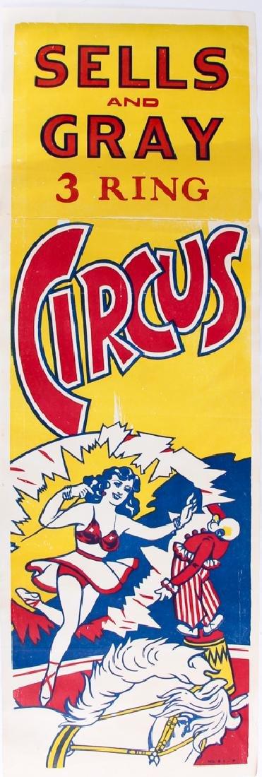 Three Sells and Gray Circus Posters - 4